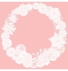 orient floral ornament vector image