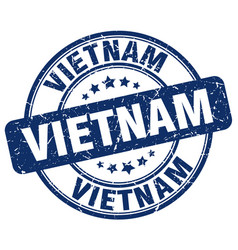 vietnam stamp vector image