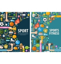 sport logo design template gymnastics or vector image