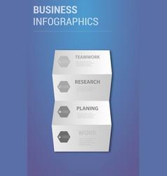 Abstract paper infografics eps10 vector