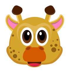 avatar of a giraffe vector image