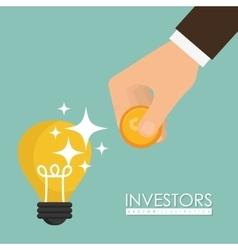 Business investors vector image