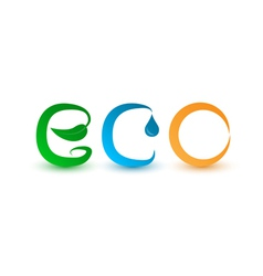 eco vector image
