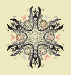 Lacy fashion print for textile design for fabric vector