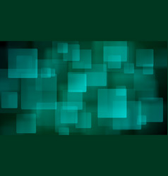 light blue abstract background of blurry squares vector image