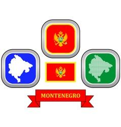 symbol of Montenegro vector image