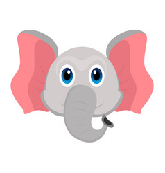 avatar of an elephant vector image