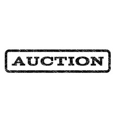 auction watermark stamp vector image
