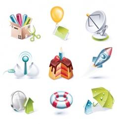 cartoon icon vector image