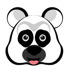 avatar of a panda vector image