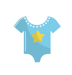 Baby boy clothes that used to sleep vector
