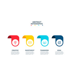 banners with circles for infographic vector image