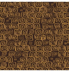 Brown background flourish vector image