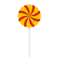 candy stick icon isolated vector image