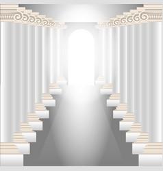 Column hall vector
