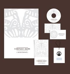 ethnic branding vector image