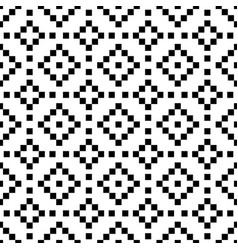 geometric shape background seamless pattern vector image vector image