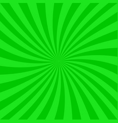 Green abstract spiral design background vector
