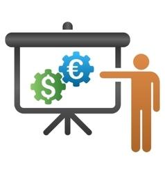 International Bank Integration Presentation vector image