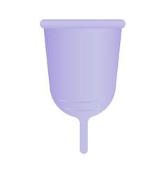 Menstrual cup recycle zero waste vector
