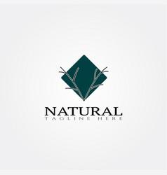 Nature icon templatecreative logo design element vector