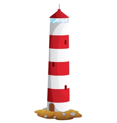 light house vector image vector image
