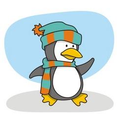 little penguin 1 vector image