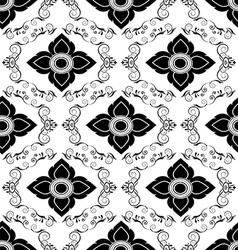Luxury vintage seamless pattern vector image