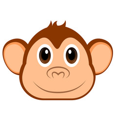 avatar of a monkey vector image