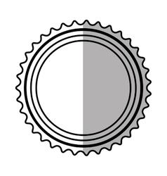 Banner sticker elemen shadow vector