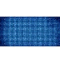 Blue abstract mosaic background vector
