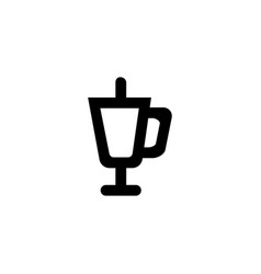 championship cup icon symbol sign vector image