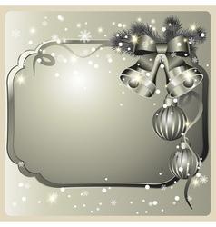 Festive card vector