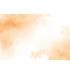 Light brown watercolor splash wash background vector