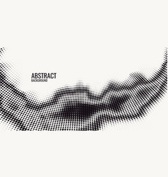 monochrome printing raster abstract vector image