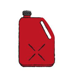 Oil bottle car icon image vector