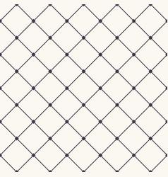 Seamless pattern hand drawn check criss cross grid vector