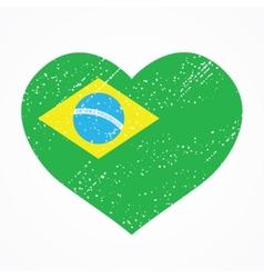 emblem of Brazil vector image vector image