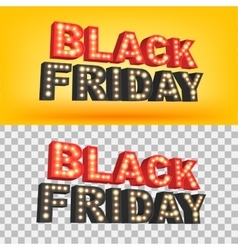 Abstract 2016 Black Friday inscription For vector
