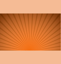 abstract orange color radial background vector image