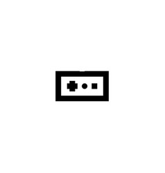 console remote control icon symbol sign vector image