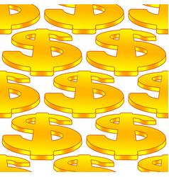 Dollar symbol pattern vector