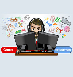 Game development sound testing and application vector