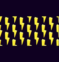 Thunder pattern thunder icon thunder abstract vector