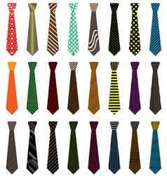 Men tie vector image