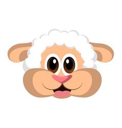 avatar of a sheep vector image vector image