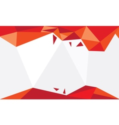 Background Triangle Red vector