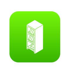 file wardrobe icon green vector image