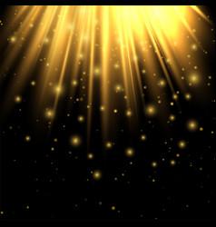 golden lights lighting effect lighting enhance vector image