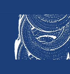 Grunge texture distress indigo rough trace energy vector